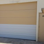 Commercial Garage Door Segment Replacement